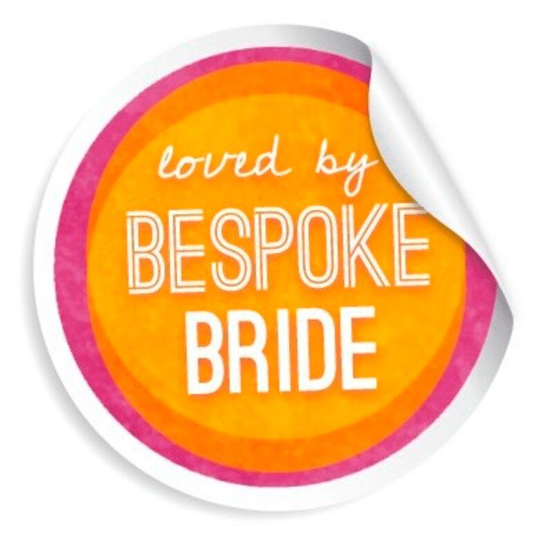 bespoke bride badge